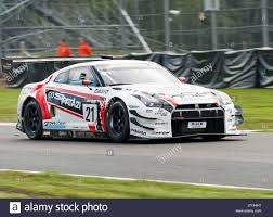 Nissan GT-R GT3 Sports Racing Car in the British GT Championship ...