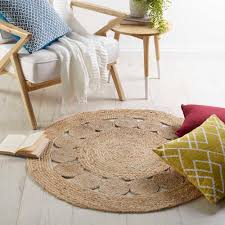 do you know how to create the round rugs central coast
