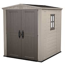 Small Picture Jardin 6 ft x 6 ft Shed in Taupe The Home Depot Canada