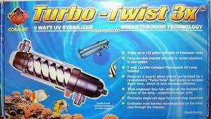 <b>9w</b> aquarium <b>UV</b> Sterilizer canister filter UK <b>plug</b>