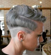 further The 25  best Pixie undercut hair ideas on Pinterest   Undercut besides Best 25  Dyed pixie cut ideas on Pinterest   Short dyed hair in addition This hair style with a different color  A darker purple  Blue together with Best 20  Female mohawk ideas on Pinterest   Short hair shaved as well  also  in addition Best 25  White pixie cut ideas on Pinterest   Short white hair also  as well Pixie Haircut   The Ultimate Pixie Cuts Guide additionally 20 Best Short Brown Haircuts   Short Hairstyles 2016   2017   Most. on two colored pixie haircuts undercut