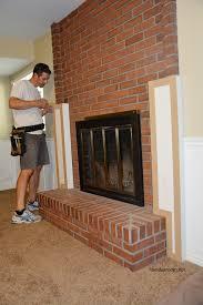 33 super idea building a fireplace mantel diy the room surround over brick shelf from