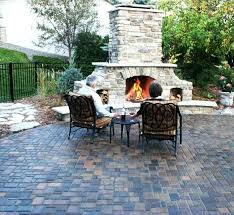 stone patio with fire pit landscape tasty mulch ideas for landscaping in square fire pit patio