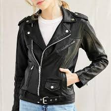 badass leather jackets for women