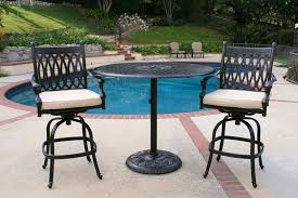 outdoor pub tables sets stunning patio table and chairs set best of intended for designs home