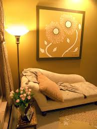 feng shui home simple decorating. Yellow Feng Shui Designed Room With Flower Wall Art Home Simple Decorating R