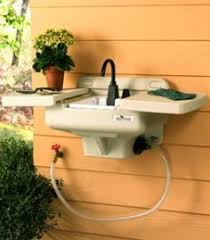 exterior sink ideas. watch how to install an outdoor kitchen in your backyard, complete with rinsing sink, refrigerator and gas grill #diy #homeimprovement | pinterest exterior sink ideas