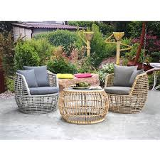 outdoor lounge sofa rattan chair sets