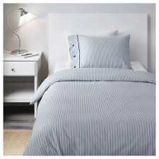 blue and white striped duvet cover with nyponros duvet cover and pillowcase s full queen double