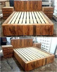pallet furniture designs.  Pallet Pallet Bed Furniture Bedroom Home Design Ideas  With Pallet Furniture Designs