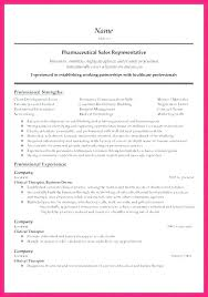 Objective In A Resume Sample Best of Pharmaceutical Sales Resume Sample Cal Sales Resume Objective
