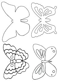 Small Butterfly Template Small Butterfly Templates Template