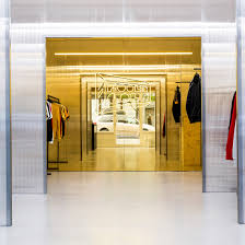 architecture yellow. family new york designs brooklyn record and clothing store with ample architecture yellow