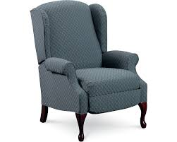 Wingback Recliners Chairs Living Room Furniture Hampton High Leg Recliner Recliners Lane Furniture Lane