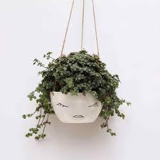 pot character rhcom com mygift petite wall mounted or rhcom com white ceramic wall planter mygift
