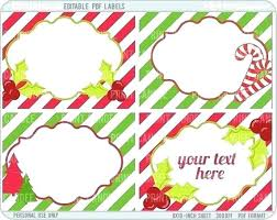 Christmas Gift Labels Templates Word Template For Gift Tags Lovely Free Printable Christmas