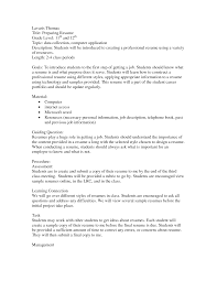 Gallery Of Resume For Teenager First Job