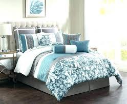 light gray comforter navy blue king comforter navy white bedding bed comforters teal and light gray