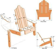 build a diy adirondack chair with plans