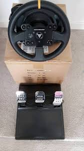 thrustmaster tx leather edition wheel and pedals