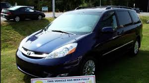 2007 Toyota Sienna XLE Limited 7 Passenger Van Passenger - YouTube
