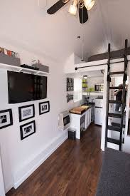 Best Images About Small Spaces Grand Living On Pinterest - Tiny house on wheels interior