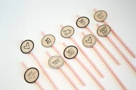 Cute Printable Cupcake Topper Cocktail Stirrers