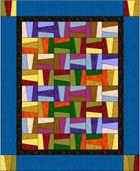 wacky rail fence quilt | MCC class projects | Pinterest | Rail ... & wacky rail fence quilt Adamdwight.com