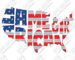 american flag word art all american girl fourth of july patriotic american flag map custom