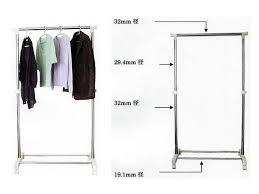 Standard Coat Rack Height Coat Rack Creative Standard Coat Closet Shelf Height 6