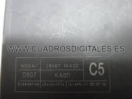 nissan juke 284b7 1ka0d (fuse box) cuadros digitales 2015 nissan juke fuse box diagram at Nissan Juke Fuse Box