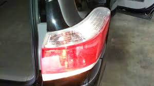 2013 Toyota Highlander SUV - Testing Tail Lights After Changing ...
