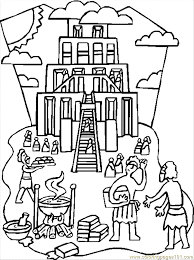 Small Picture picture Tower Of Babel Coloring Page 27 For Your Coloring Pages