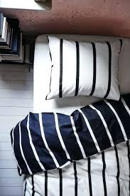 ikea ticking stripe duvet black and white striped bedding designs ikea ticking stripe duvet cover