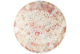 red circular rug round rugs for your home office living spaces 0 red circular rugs uk round
