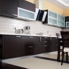 Modular Kitchen Handle Design Affordarble Modern Two Color Combination Modular Kitchen Cabinets With Invisible Cabinet Handle Buy Kitchen Cabinet Modular Kitchen