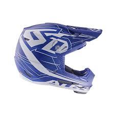 6d 2019 Youth Atr 2y Aero Offroad Helmet Blue