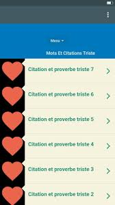 Mots Et Citations Triste For Android Apk Download