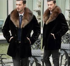 2019 luxury men s faux fur peacoat add thick winter lapel warm coat outwear jacket long outwear overcoat h8 from vanilla03 122 04 dhgate com