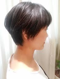 結構ハンパないくせ毛を活かすショートカット 髪型 ボブ 40 代 くせ毛