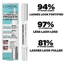 <b>L</b>'<b>Oreal</b> Paris <b>Clinically Proven Lash</b> Serum for Stronger, Thicker ...