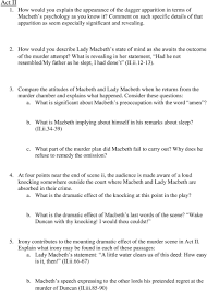 macbeth essay introduction coursework essays coursework essay  macbeth study guide questions pdf how would you describe lady macbeth s state of mind as