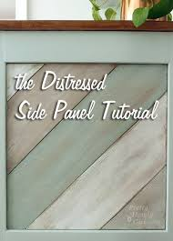 diy tutorial antiquing wood. the painted distressed wood panel tutorial pretty handy girl diy antiquing x