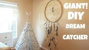 Tree Branch Dream Catcher HOW TO MAKE A EASY GIANT DREAM CATCHER YouTube 58