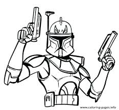 Clone Wars Coloring Pages Printable Clone Wars Coloring Pages