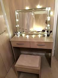 Bedroom Makeup Vanity With Lights Vanity With Lights For Bedroom ...