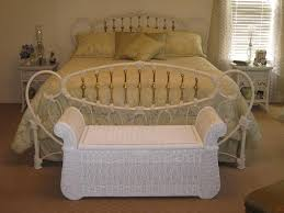 White Wicker Bedroom Furniture Design – Home Designing