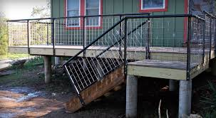 metal deck railing ideas unthinkable indoor and outdoor design home 17