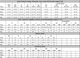 Ocp Female Size Chart 16 Rare Female Ocp Uniform Size Chart