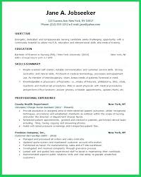 Nursing Resume Templates Free Wonderful Resume Template Registered Nurse Nursing Examples Sample In Cv Doc N